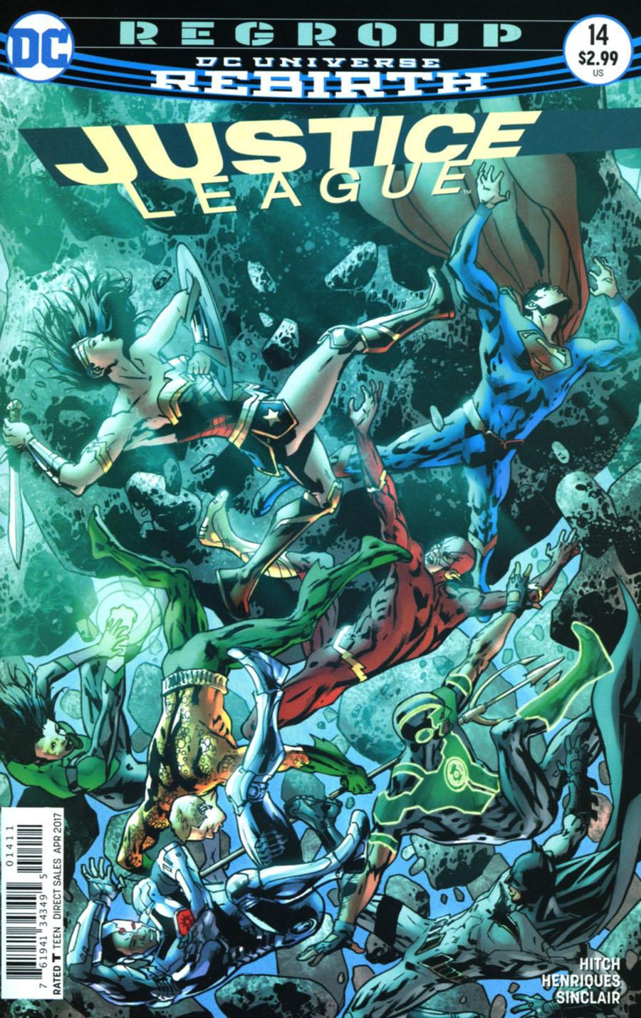 Justice League Vol 3 #14 Cover A Regular Bryan Hitch Cover