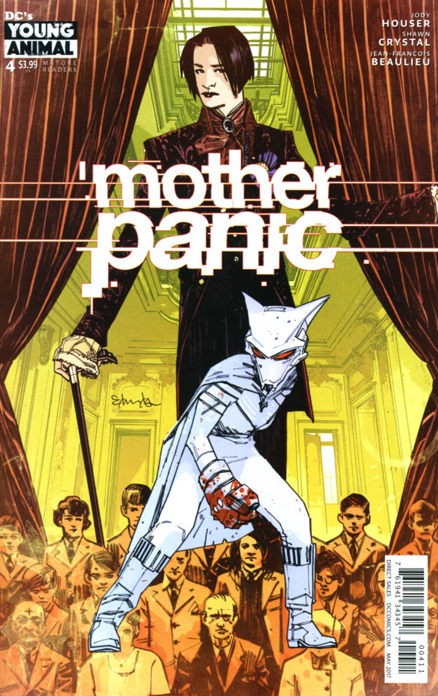 Mother Panic #4 Cover A Regular Tommy Lee Edwards Cover