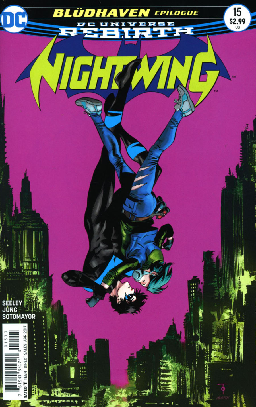 Nightwing Vol 4 #15 Cover A Regular Marcus To Cover