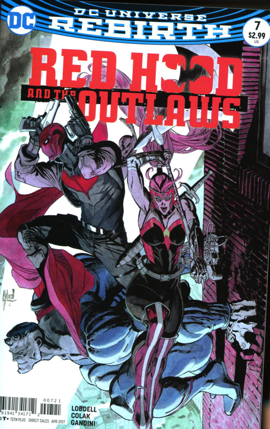 Red Hood And The Outlaws Vol 2 #7 Cover B Variant Matteo Scalera Cover