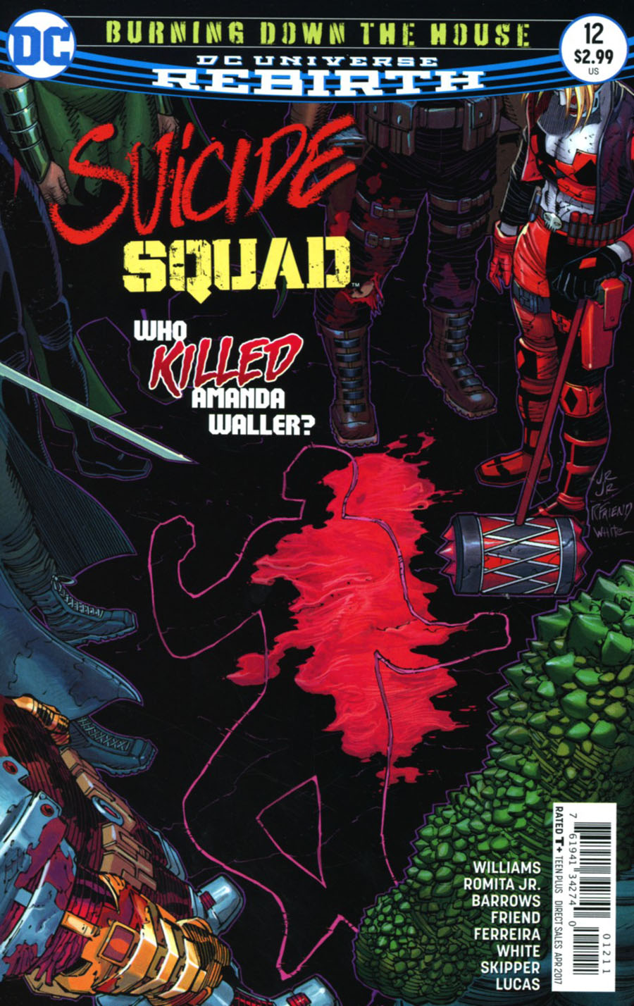 Suicide Squad Vol 4 #12 Cover A Regular John Romita Jr Cover