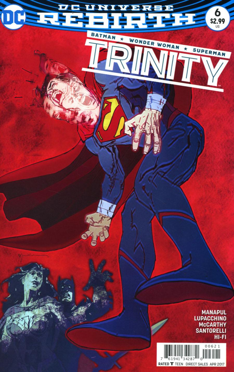 Trinity Vol 2 #6 Cover B Variant Bill Sienkiewicz Cover