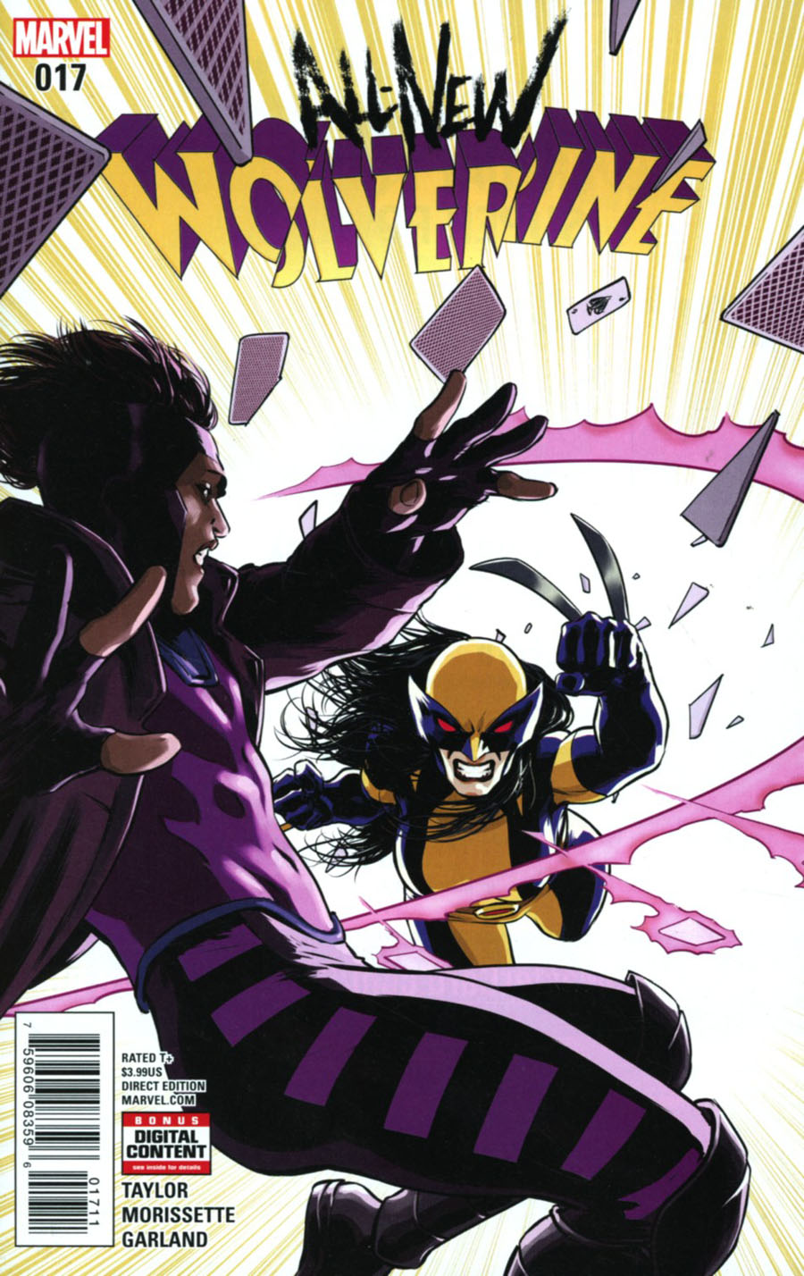 All-New Wolverine #17 Cover A Regular David Lopez Cover