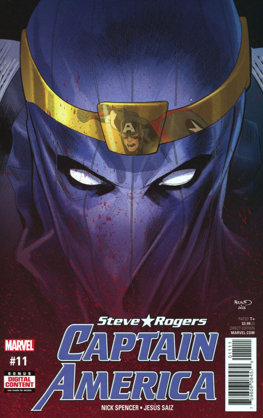Captain America Steve Rogers #11 Cover A Regular Paul Renaud Cover