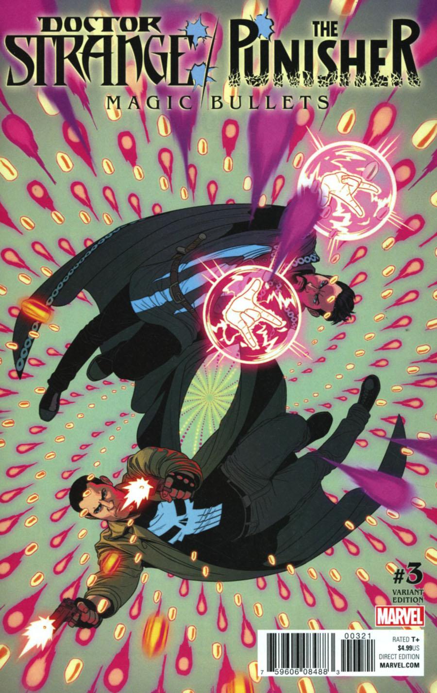 Doctor Strange Punisher Magic Bullets #3 Cover B Variant Jamie McKelvie Cover