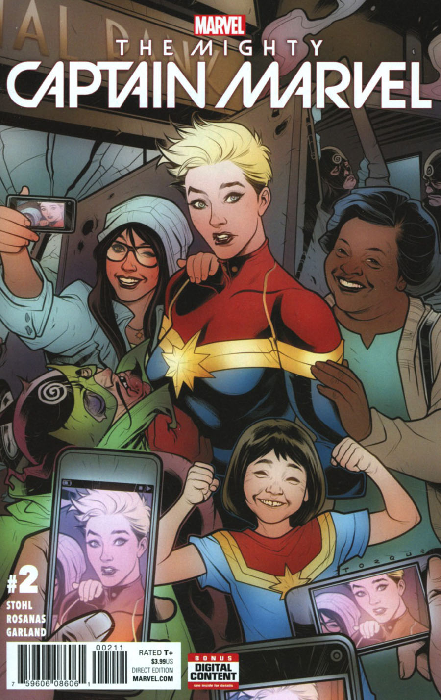 Mighty Captain Marvel #2 Cover A Regular Elizabeth Torque Cover