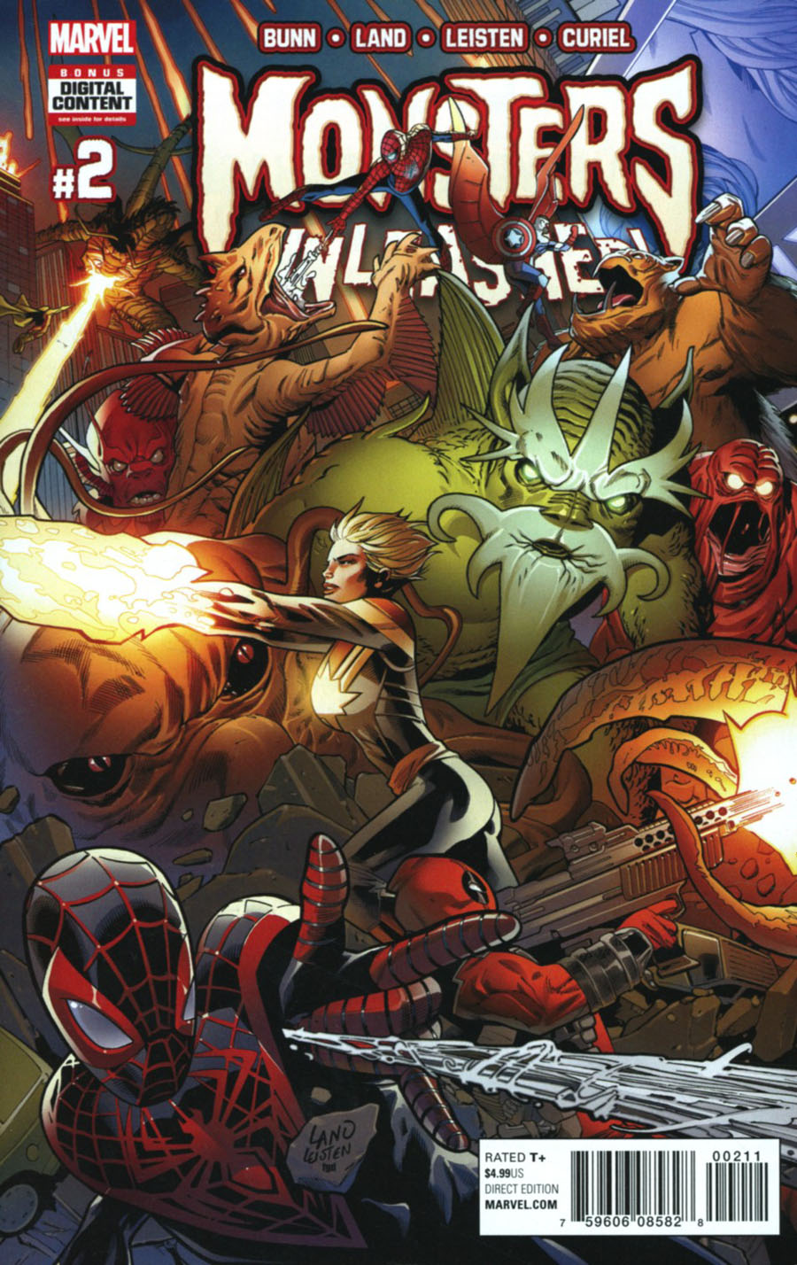 Monsters Unleashed #2 Cover A Regular Greg Land Cover