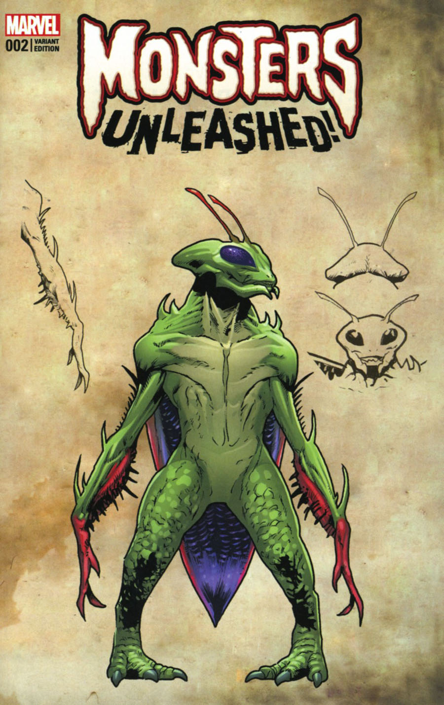 Monsters Unleashed #2 Cover D Variant Leinil Francis Yu Monster Cover