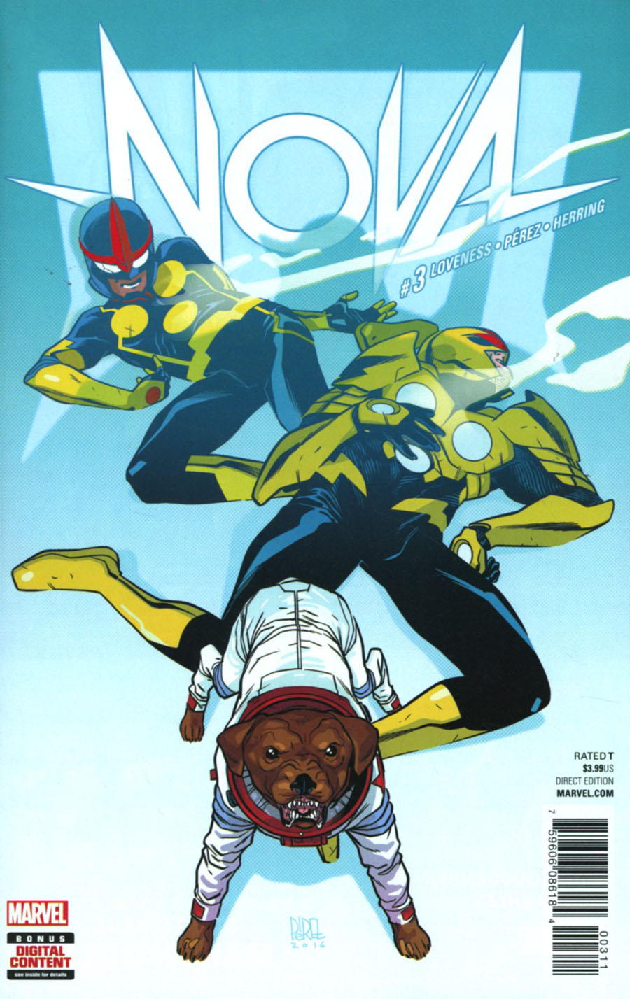 Nova Vol 7 #3 Cover A Regular Ramon Perez Cover
