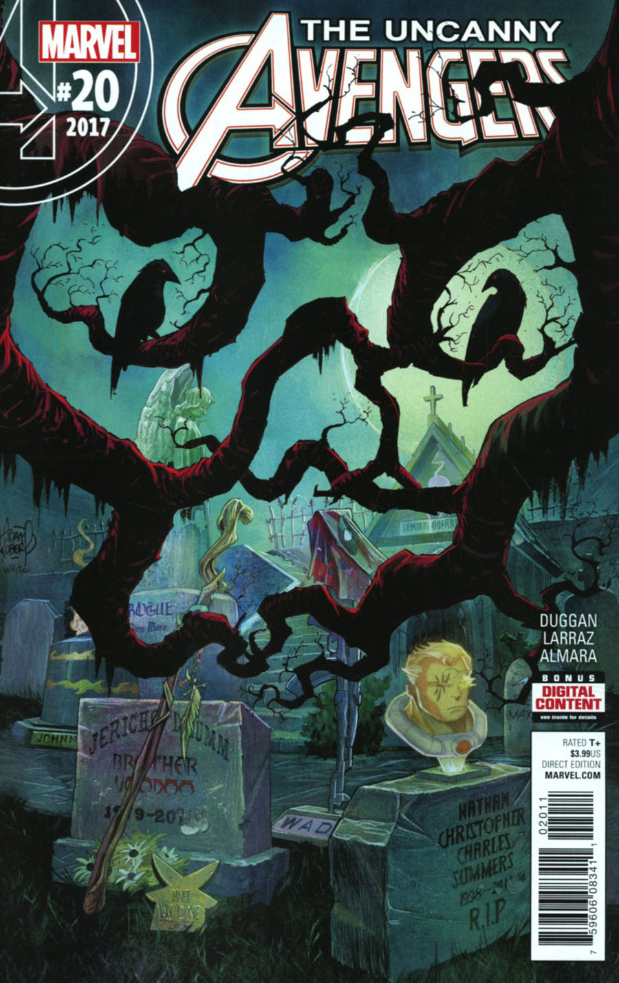 Uncanny Avengers Vol 3 #20 Cover A Regular Adam Kubert Cover