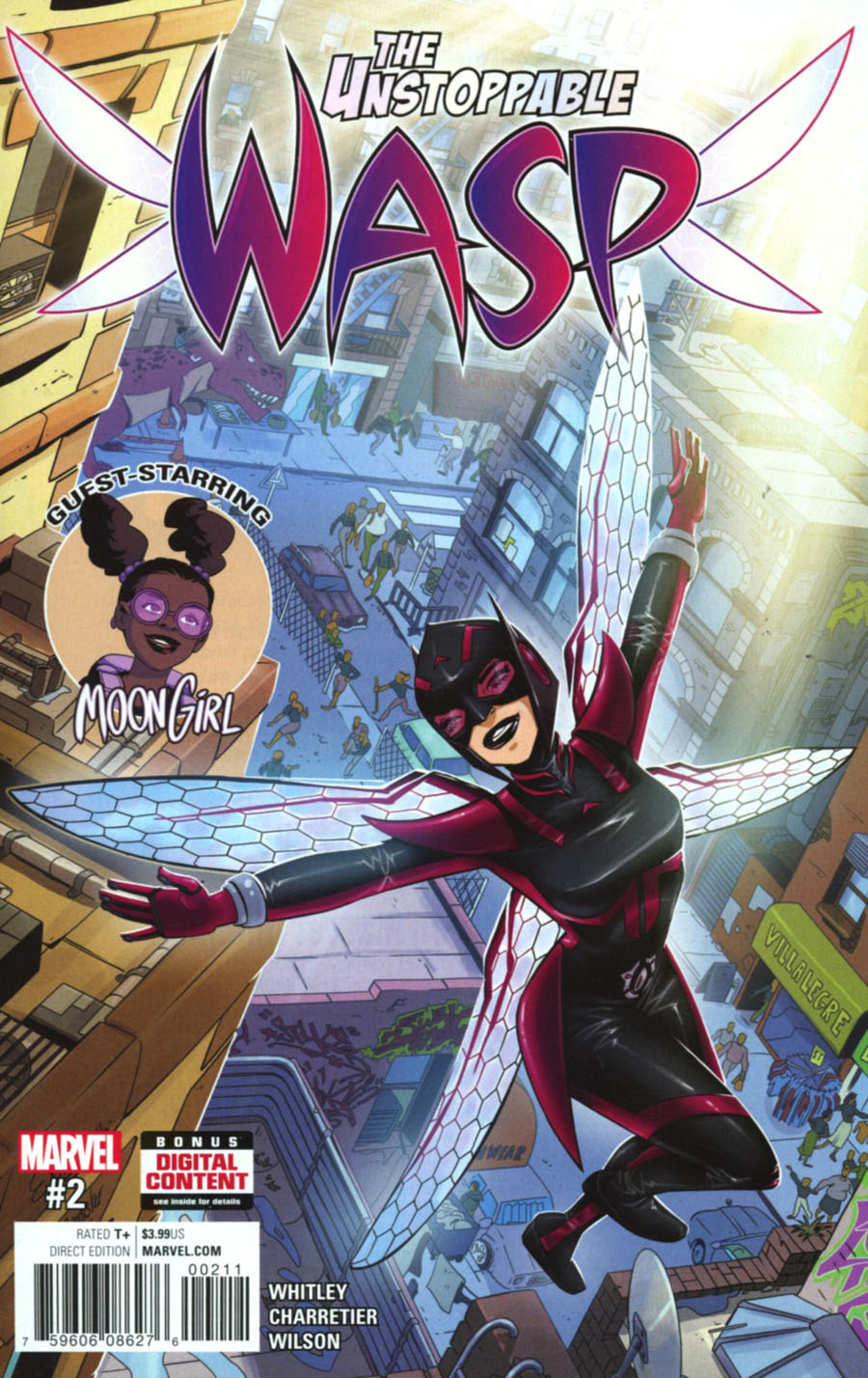 Unstoppable Wasp #2 Cover A Regular Elsa Charretier Cover