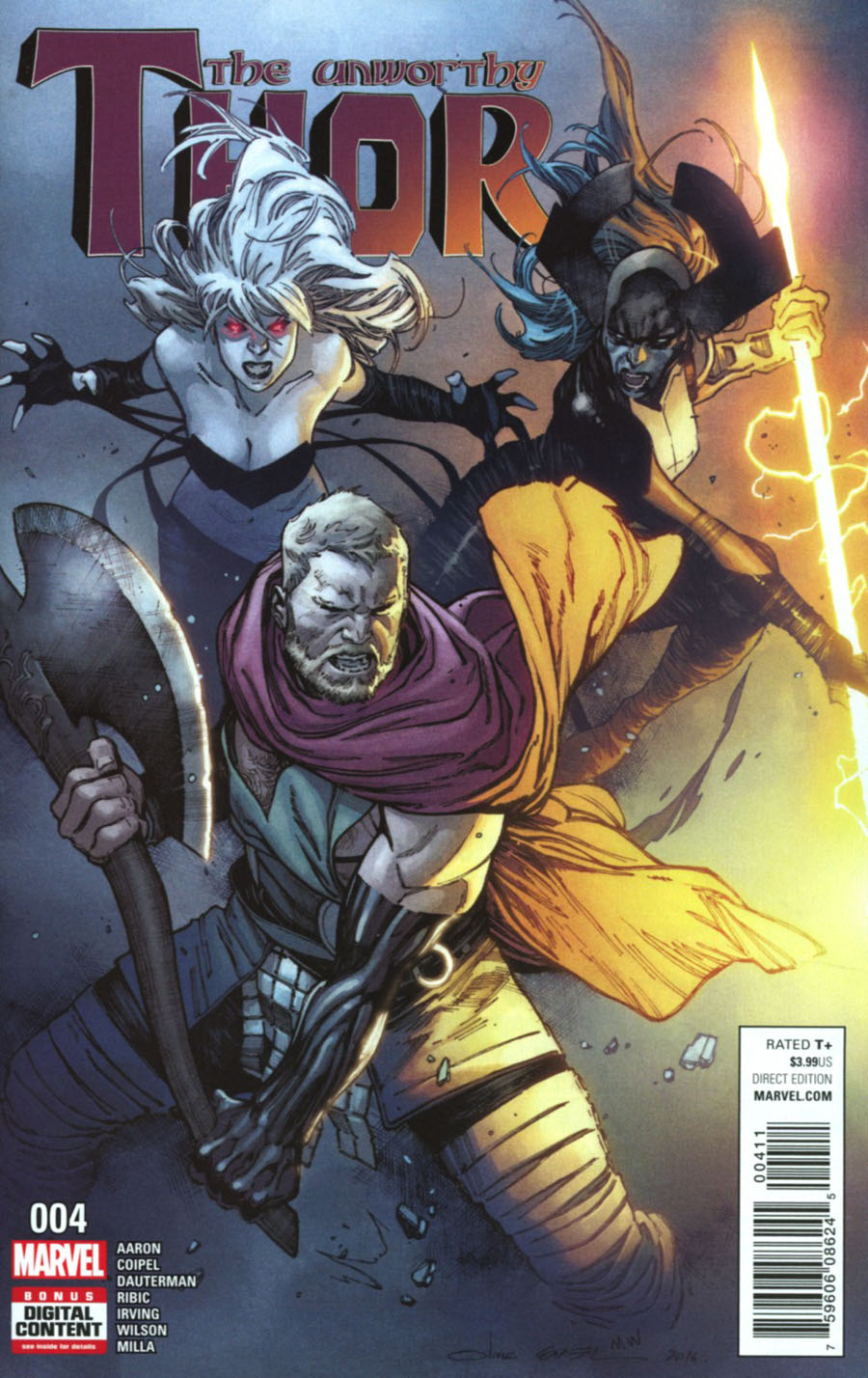 Unworthy Thor #4 Cover A Regular Olivier Coipel Cover