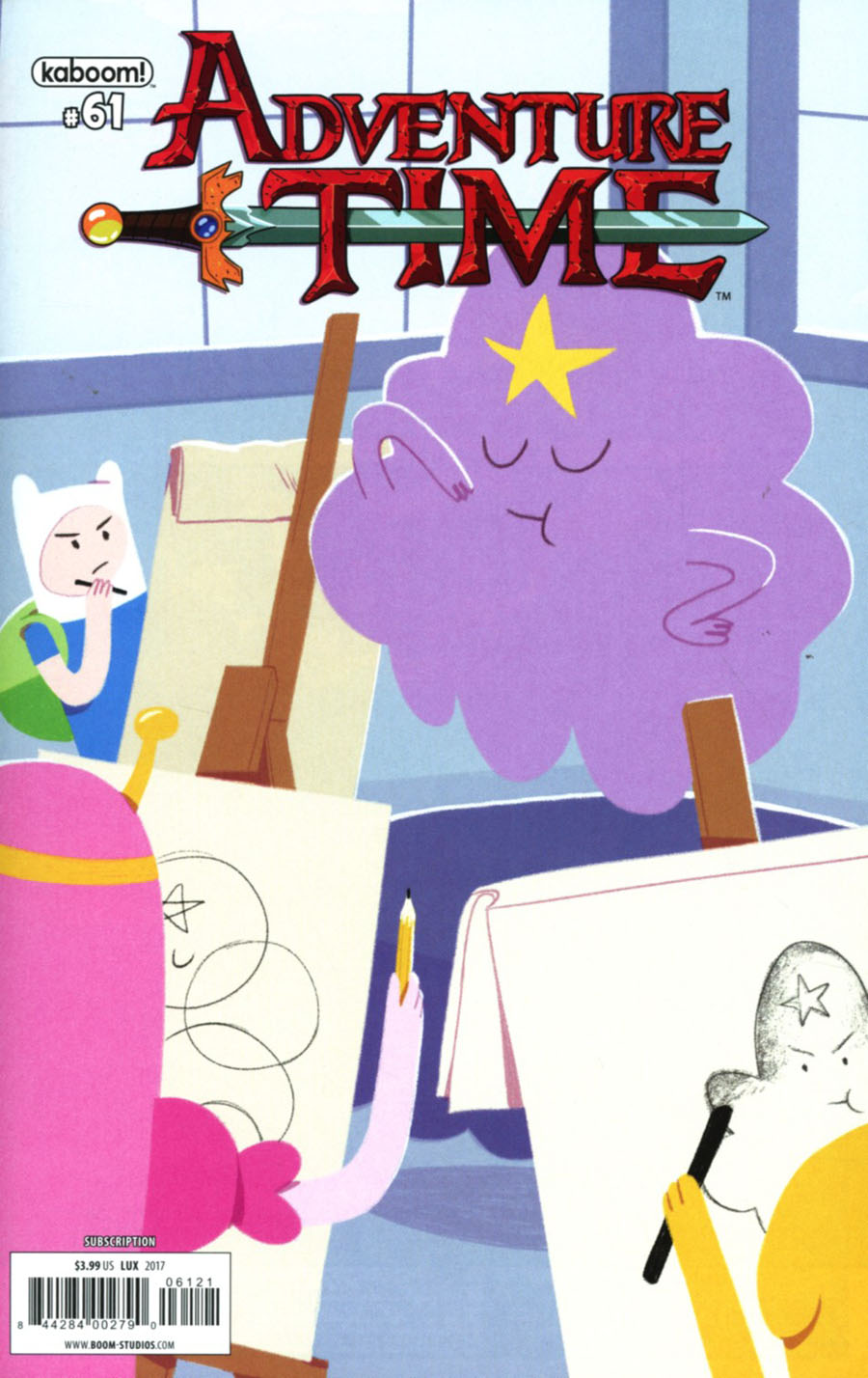 Adventure Time #61 Cover B Variant Erin Lux Subscription Cover