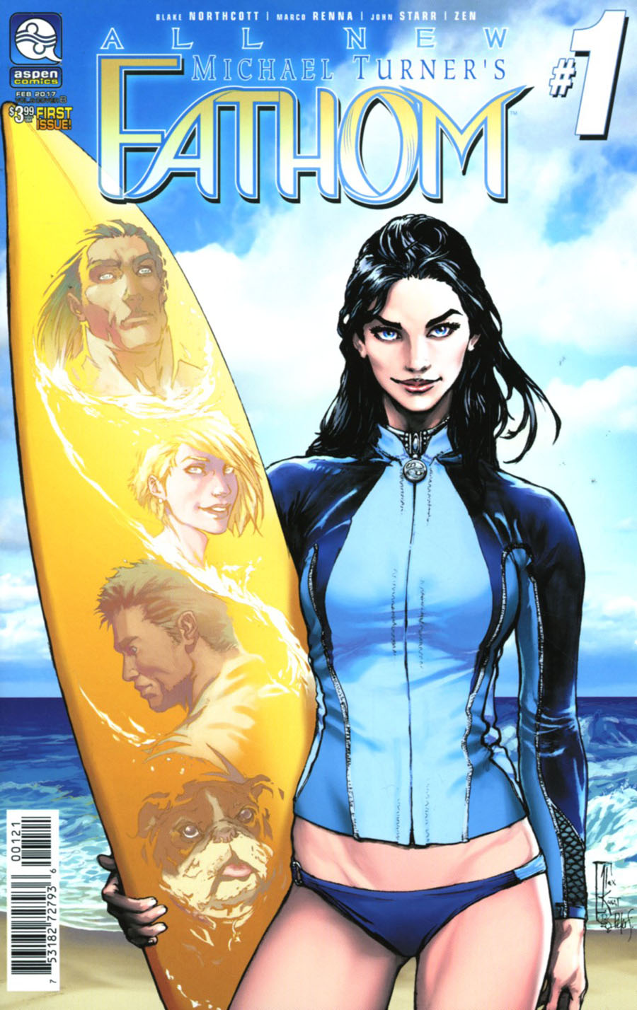 All New Fathom Vol 2 #1 Cover B Variant Alex Konat Cover