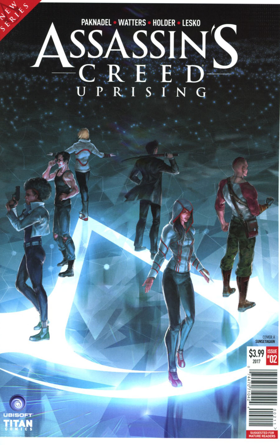 Assassins Creed Uprising #2 Cover A Regular Sunsetagain Cover