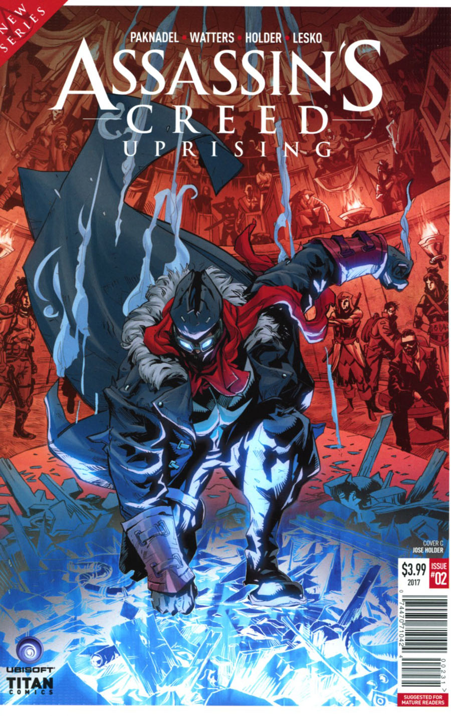 Assassins Creed Uprising #2 Cover C Variant Jose Holder Cover