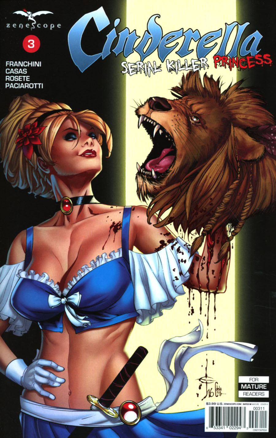 Grimm Fairy Tales Presents Cinderella Serial Killer Princess #3 Cover A Drew Edward Johnson