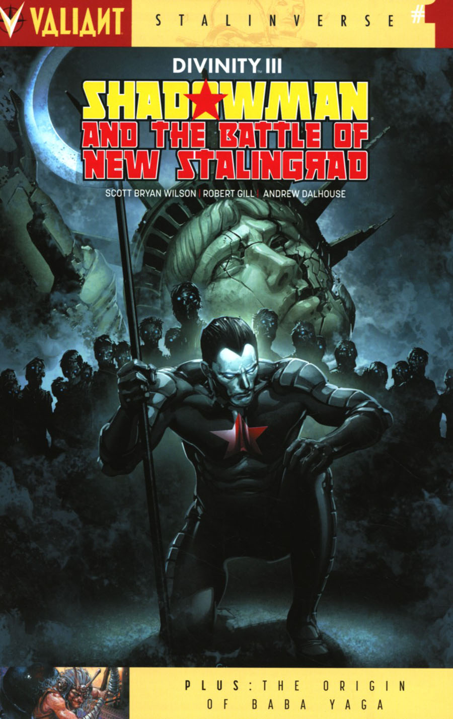 Divinity III Shadowman And The Battle Of New Stalingrad #1 Cover A Regular Clayton Crain Cover