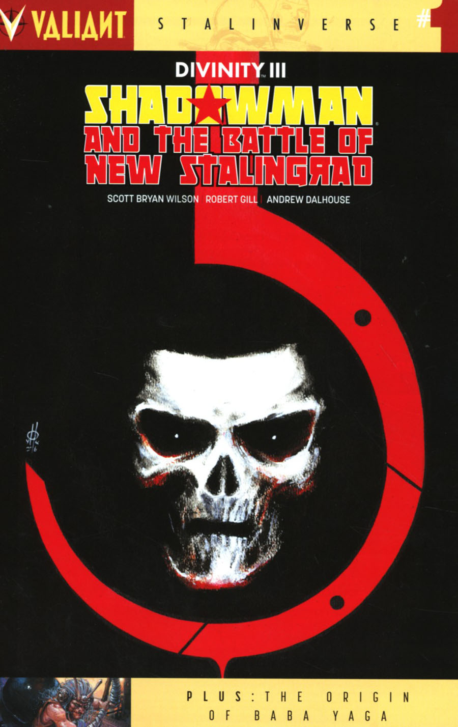 Divinity III Shadowman And The Battle Of New Stalingrad #1 Cover B Variant Marco Rudy Cover