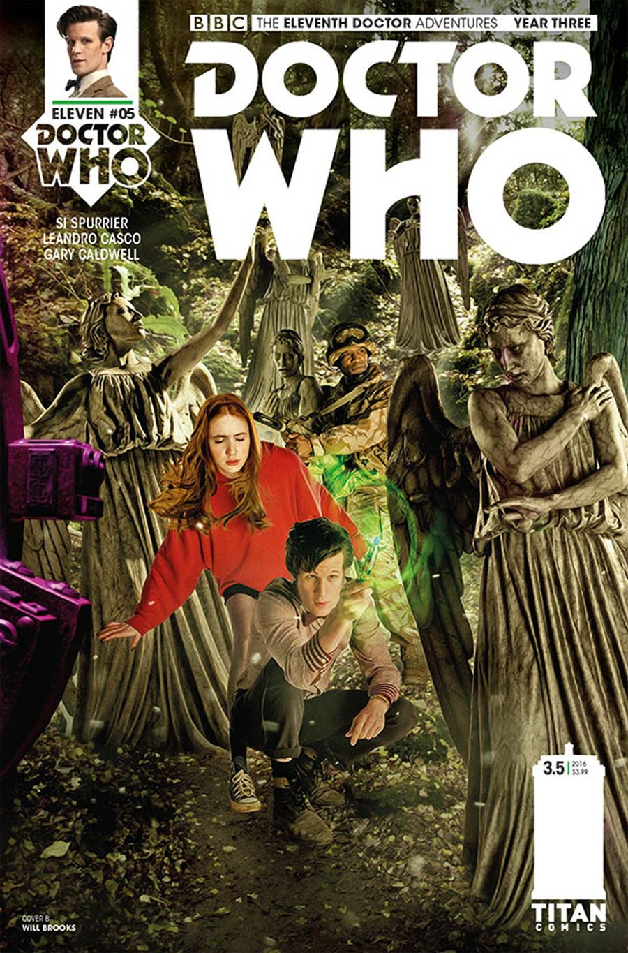 Doctor Who 11th Doctor Year Three #5 Cover B Variant Photo Cover
