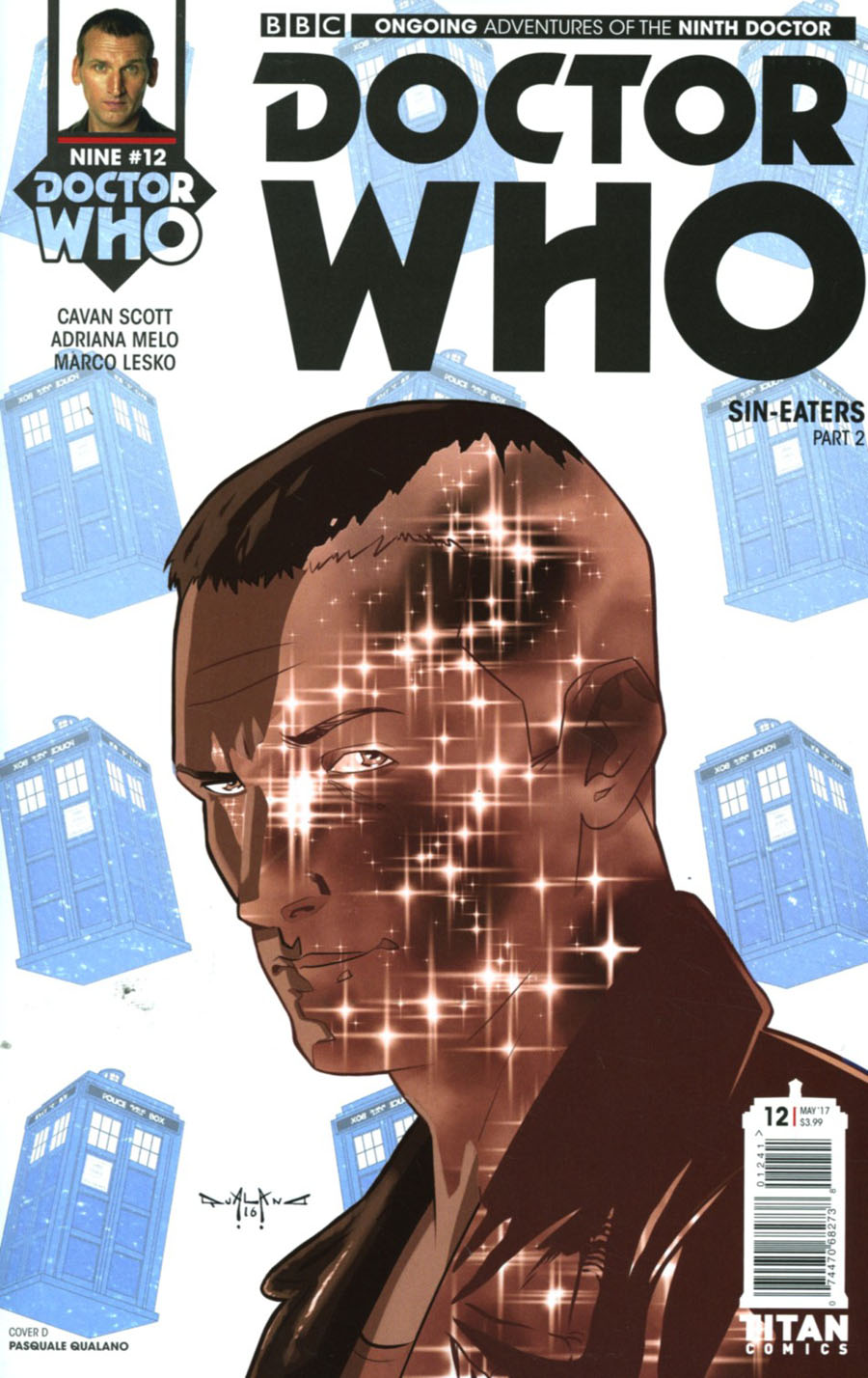 Doctor Who 9th Doctor Vol 2 #12 Cover D Variant Pasquale Qualano Cover