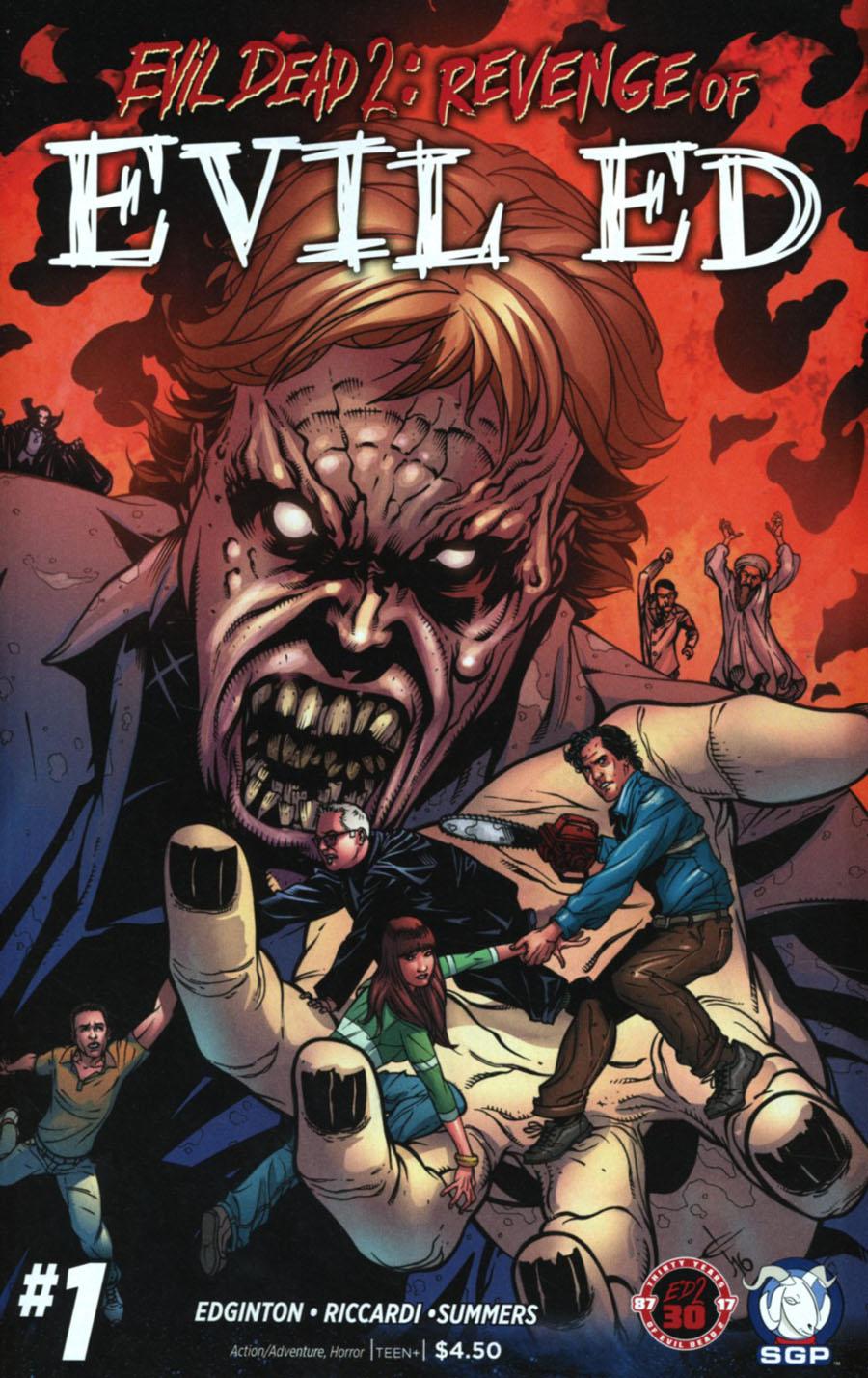 Evil Dead 2 Revenge Of Evil Ed #1