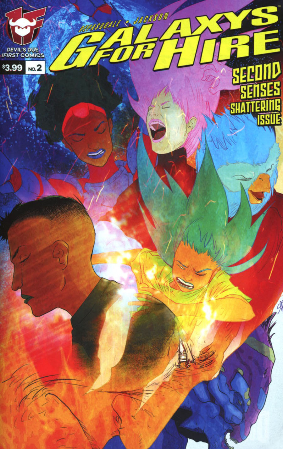 Galaxys For Hire #2 Cover A Regular Sherard Jackson Cover