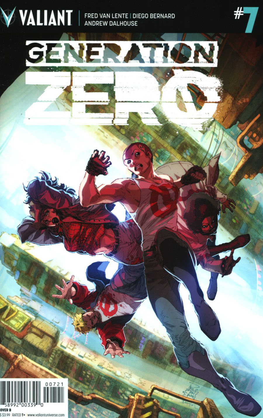 Generation Zero #7 Cover B Variant Philip Tan Cover