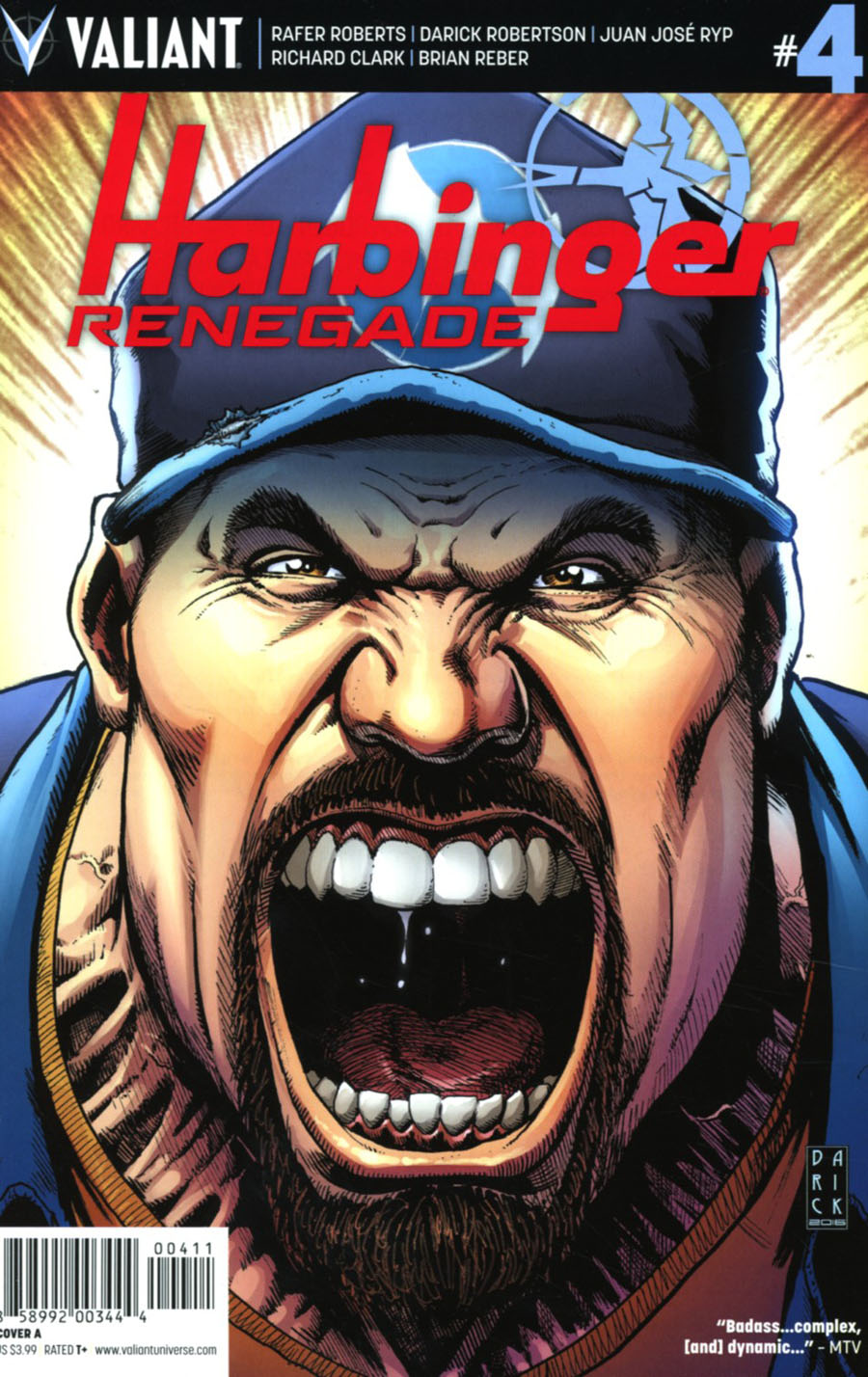Harbinger Renegade #4 Cover A Regular Darick Robertson Cover
