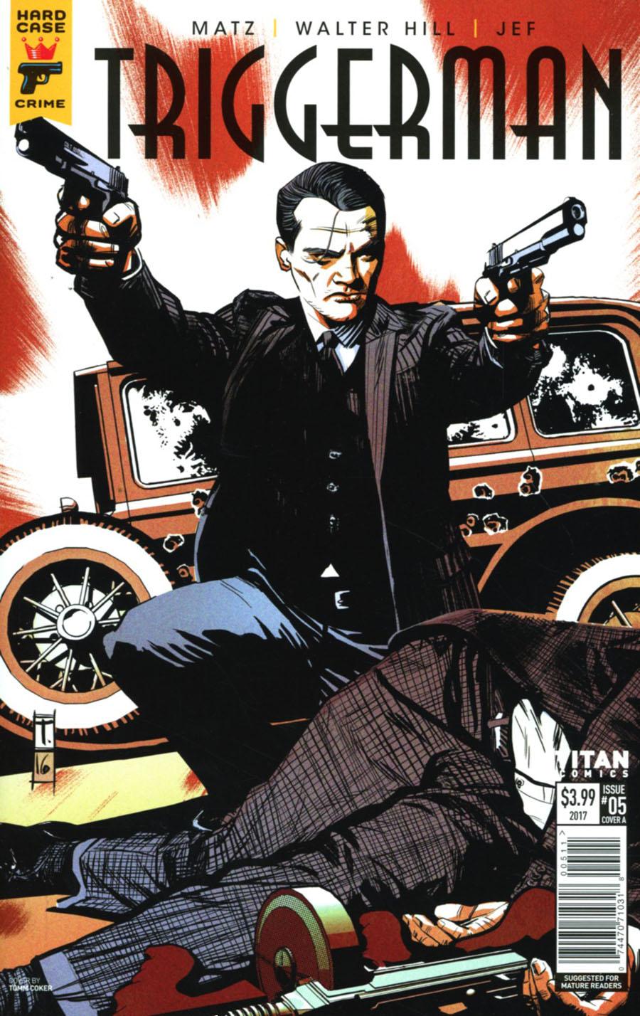 Hard Case Crime Triggerman #5 Cover A Regular Tomm Coker Cover