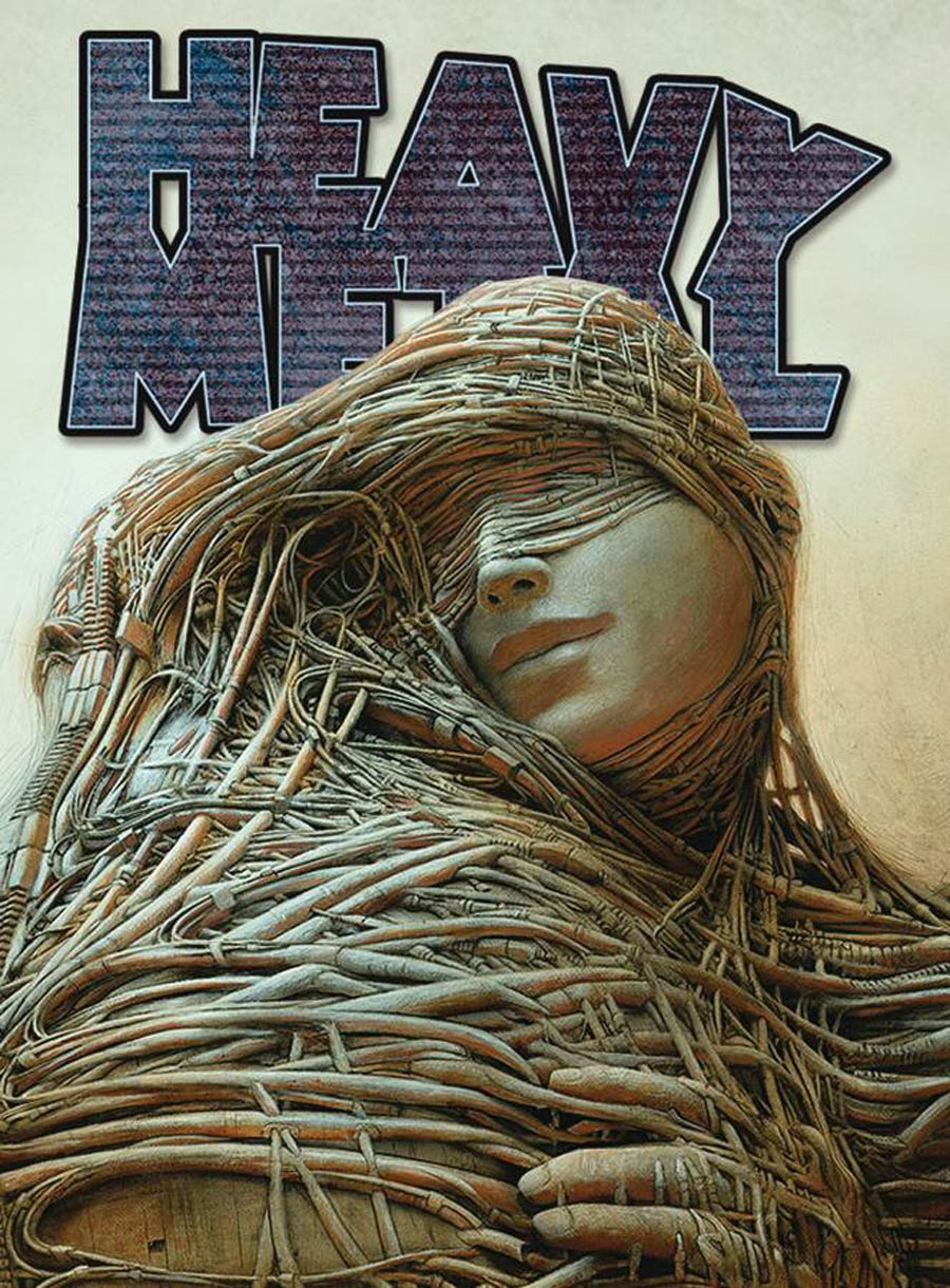 Heavy Metal #285 Cover B Attachment By Peter Gric