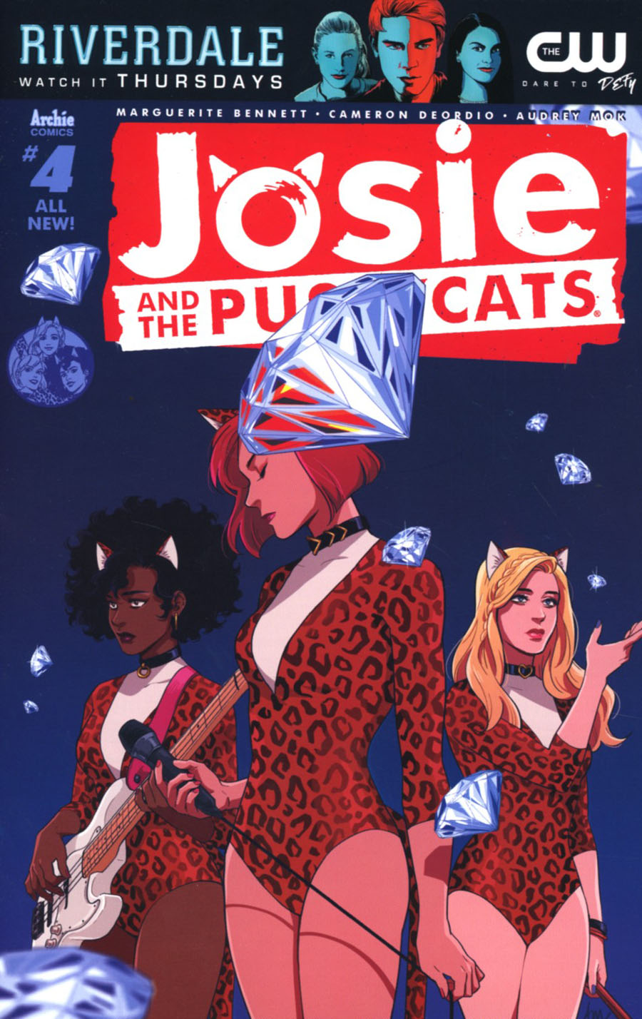 Josie And The Pussycats Vol 2 #4 Cover A Regular Audrey Mok Cover
