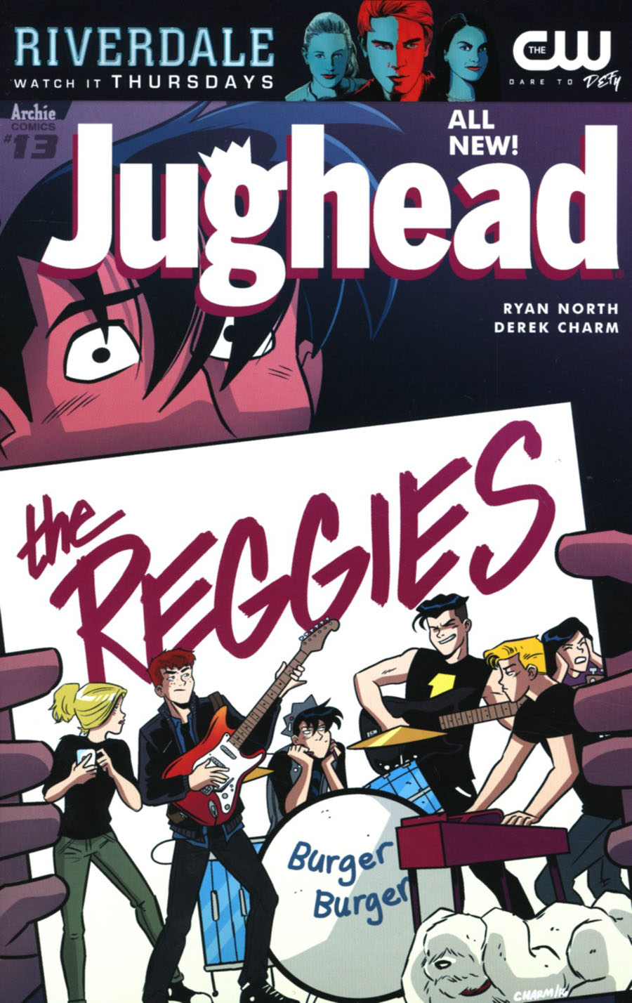 Jughead Vol 3 #13 Cover A Regular Derek Charm Cover