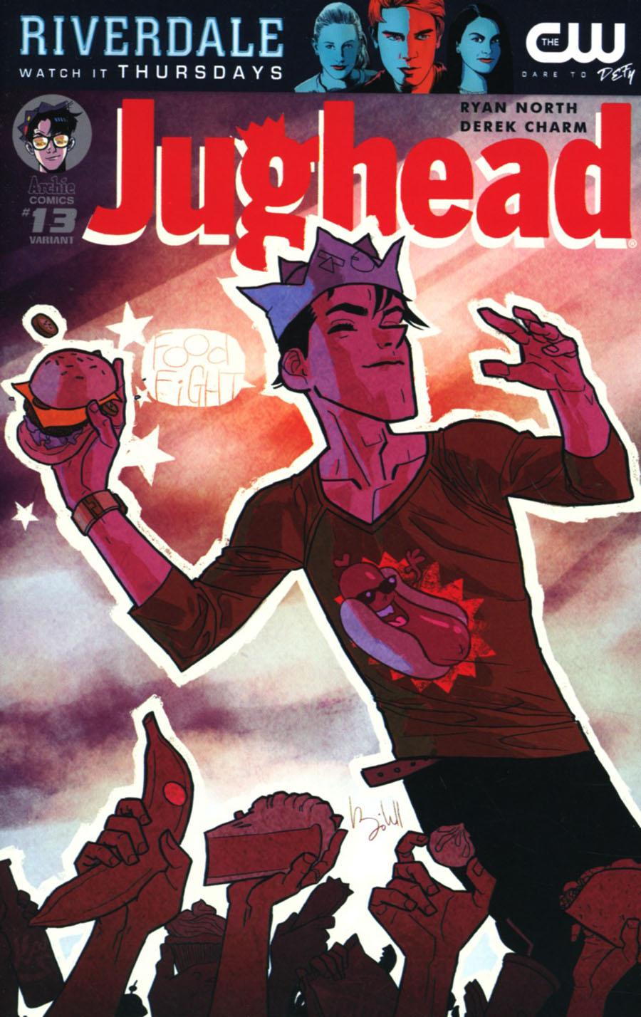 Jughead Vol 3 #13 Cover B Variant Ben Caldwell Cover