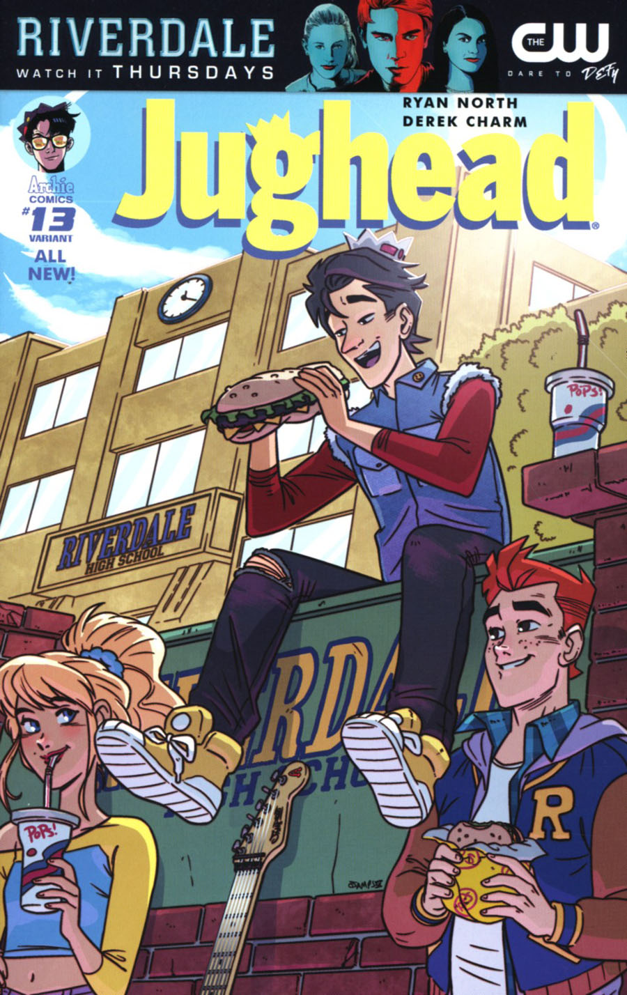 Jughead Vol 3 #13 Cover C Variant Ryan Jampole Cover