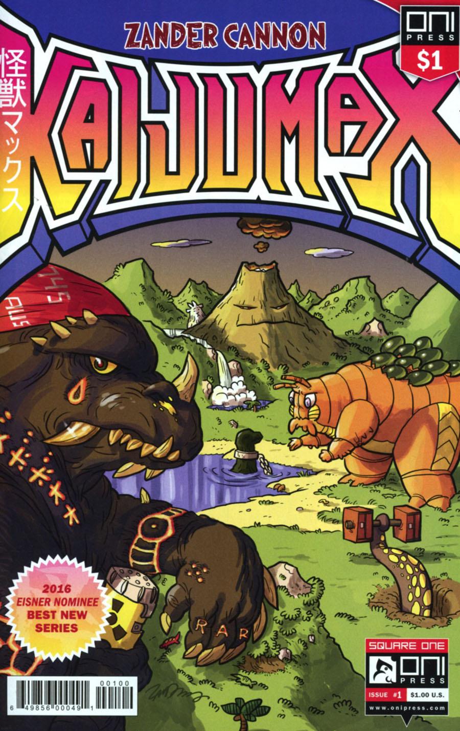 Kaijumax #1 Cover C 1 Dollar Edition