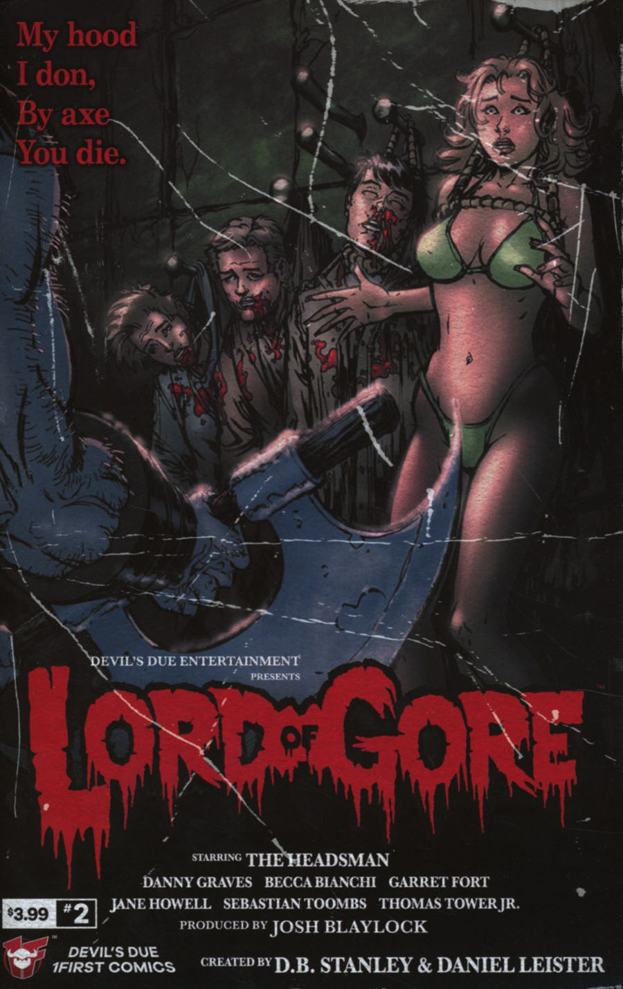 Lord Of Gore #2 Cover A Regular Daniel Leister Cover