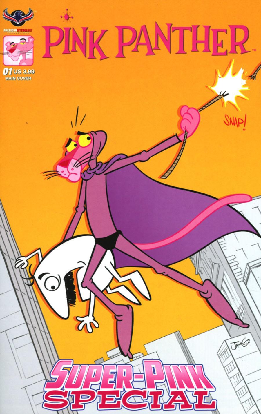 Pink Panther Super-Pink Special Cover A Regular Jacob Greenawalt Cover
