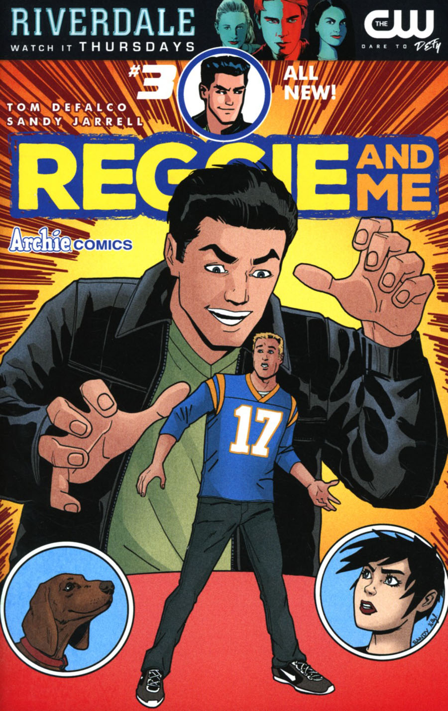 Reggie And Me Vol 2 #3 Cover A Regular Sandy Jarrell Cover