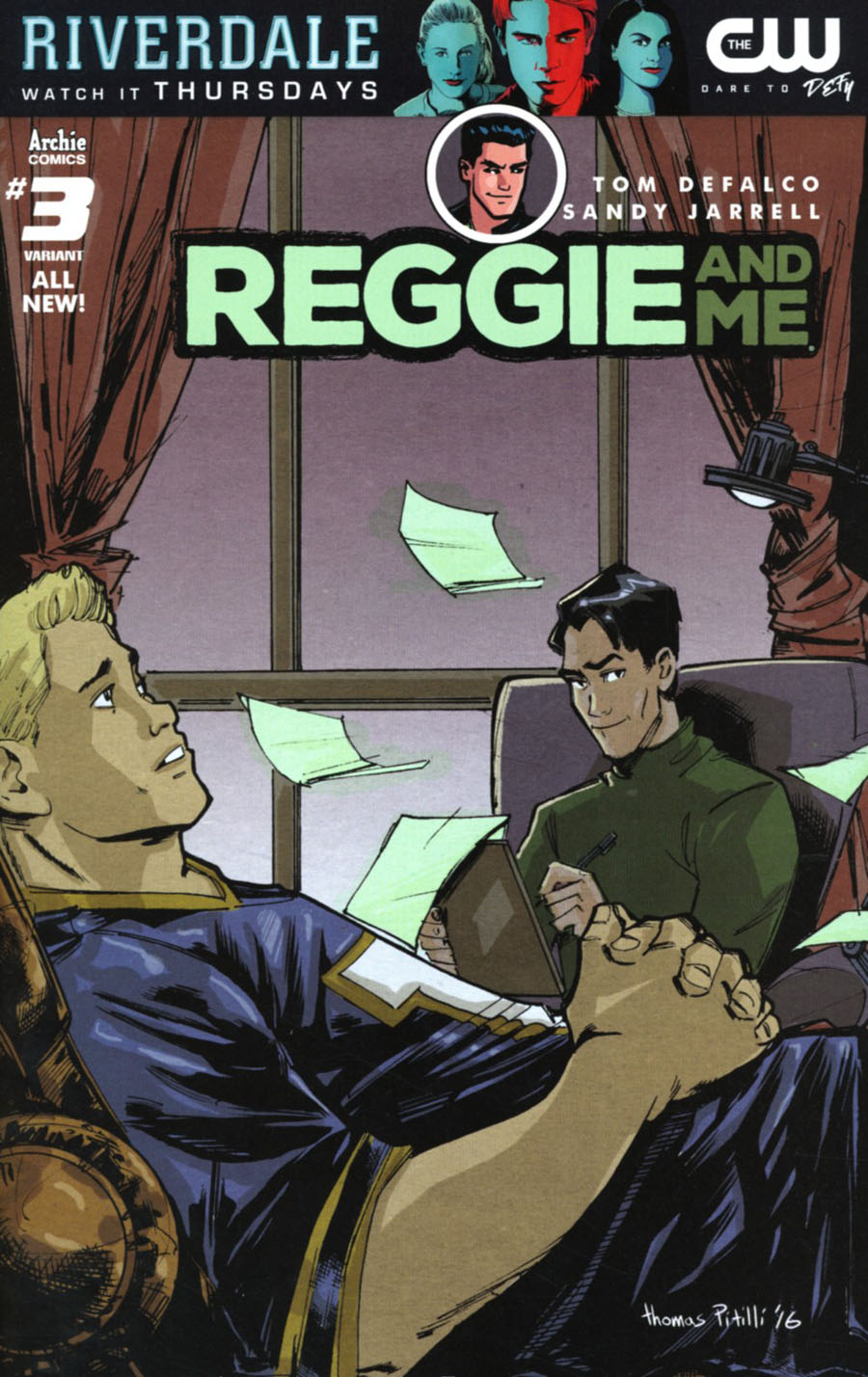 Reggie And Me Vol 2 #3 Cover C Variant Thomas Pitilli Cover