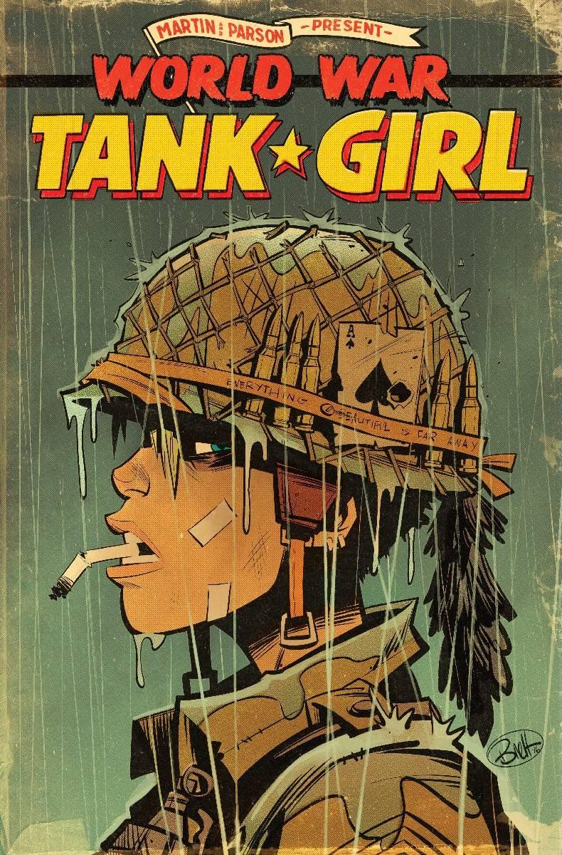 Tank Girl World War Tank Girl #1 Cover A Regular Brett Parson Cover