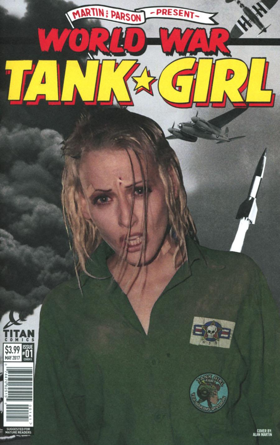 Tank Girl World War Tank Girl #1 Cover D Variant Andrew Robinson Cover