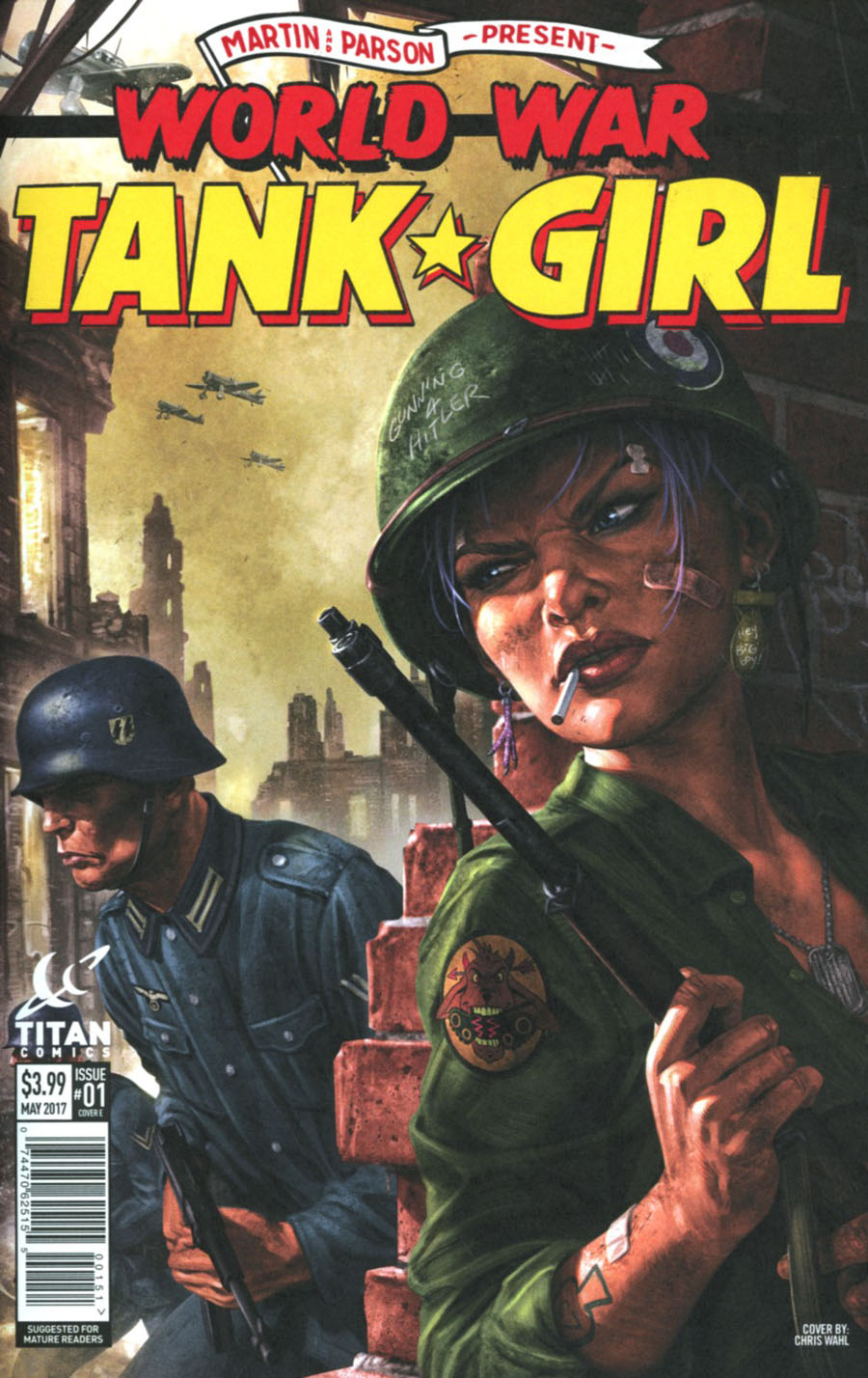Tank Girl World War Tank Girl #1 Cover E Variant Chris Wahl Cover