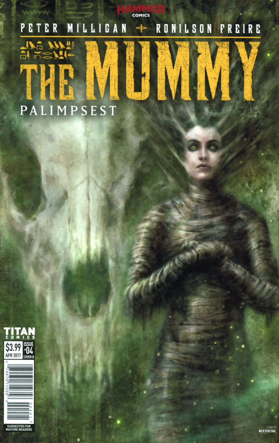 Mummy #4 Cover B Variant Nick Percival Cover