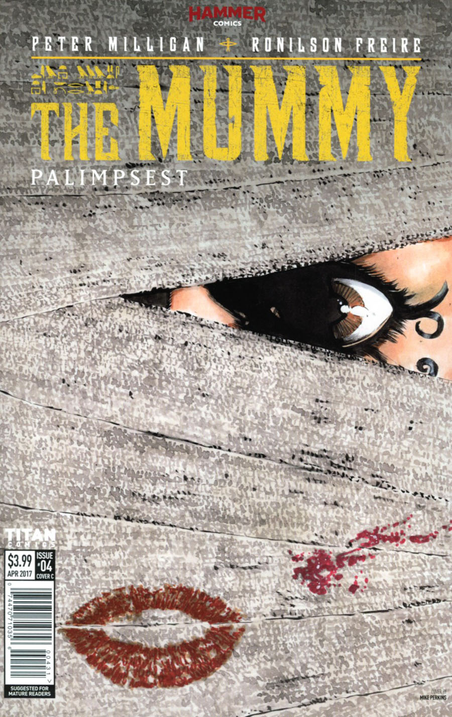 Mummy #4 Cover C Variant Mike Perkins Cover