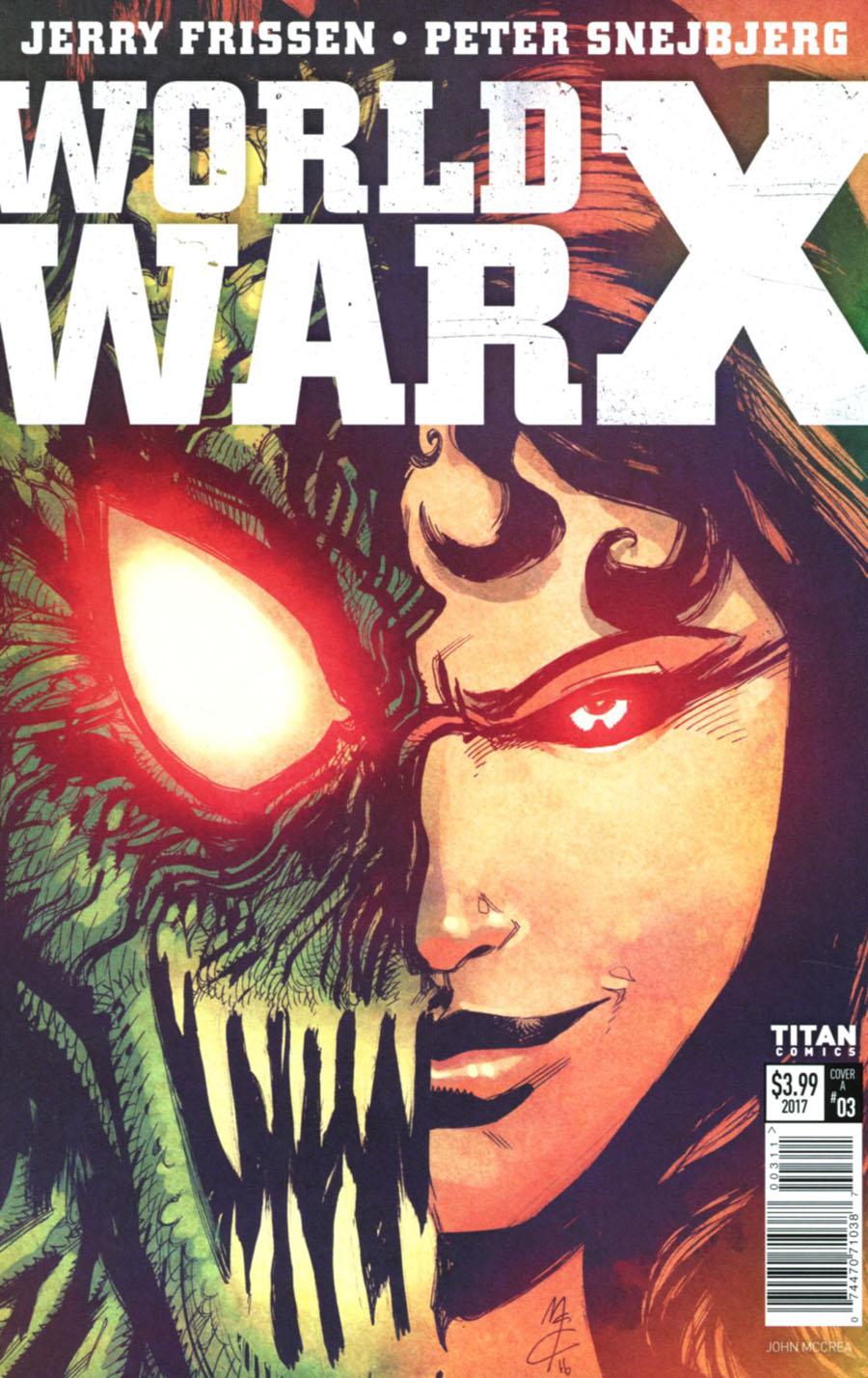 World War X #3 Cover A Regular John McCrea Cover