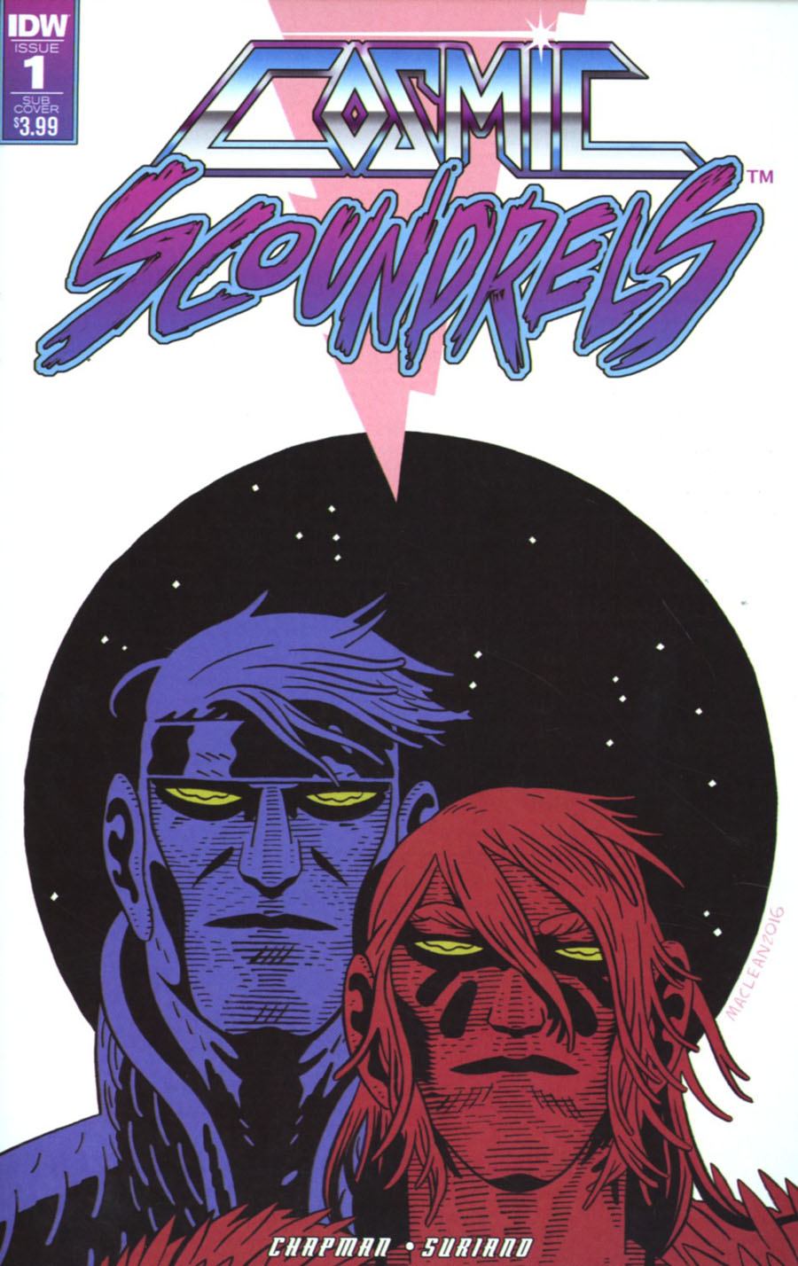 Cosmic Scoundrels #1 Cover B Variant Andrew MacLean Subscription Cover