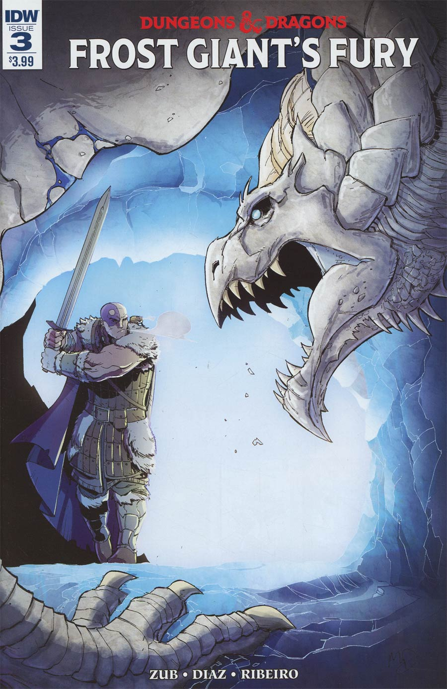Dungeons & Dragons Frost Giants Fury #3 Cover A Regular Max Dunbar Cover