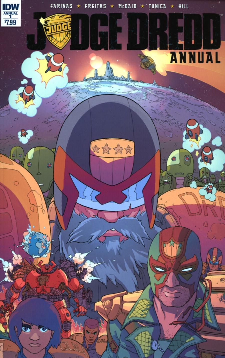 Judge Dredd Vol 5 Annual #1 Cover A Regular Ulises Farinas Cover