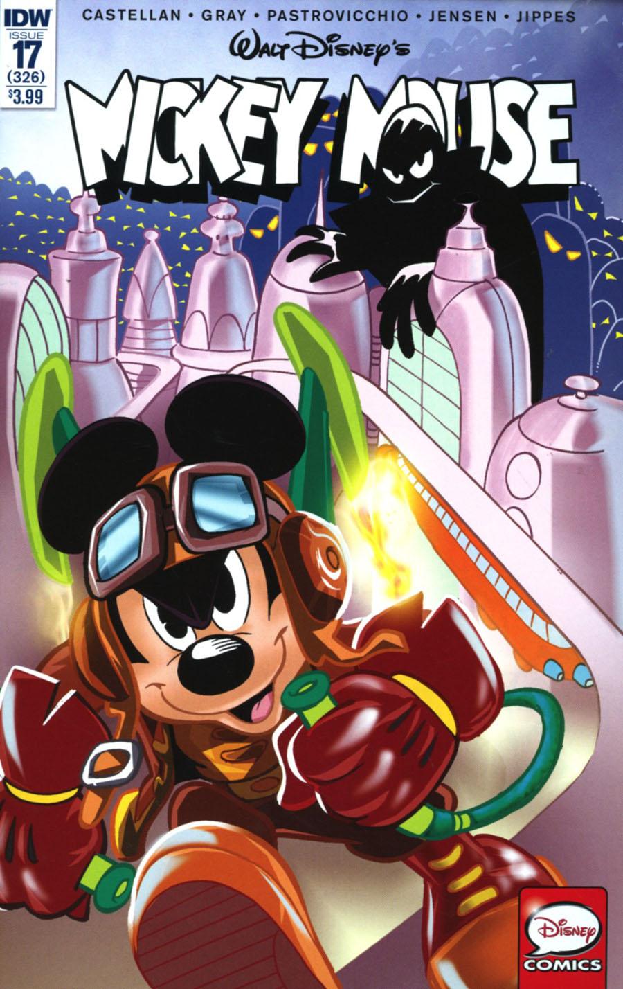 Mickey Mouse Vol 2 #17 Cover A Regular Giorgio Cavazzano Cover